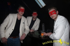 TUB 7 maart - Masquerade party